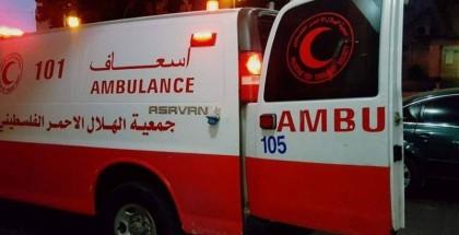 """وفاة عامل إثر سقوطه من مكان مرتفع في أراضي """"48"""""""