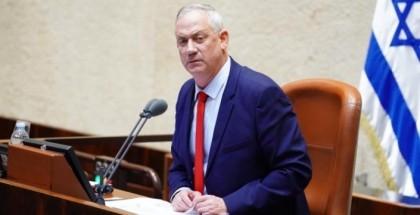 وزير الاحتلال غانتس في واشنطن لعقد اجتماع أمني