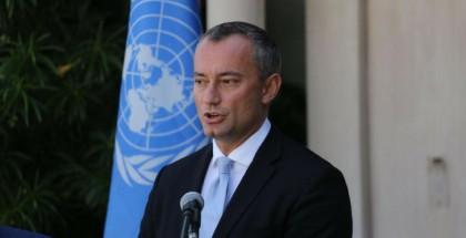 ملادينوف: الأمم المتحدة ومصر تبذلان جهودهما لإنجاح الحوار الفلسطيني