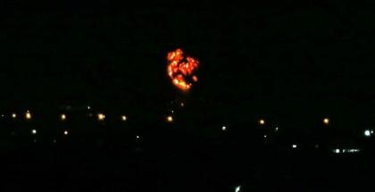 الاحتلال يشن هجوم على مواقع في محيط دمشق