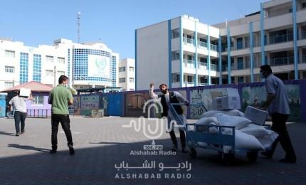 الأونروا تستأنف توزيع المساعدات الغذائية على المواطنين في غزة