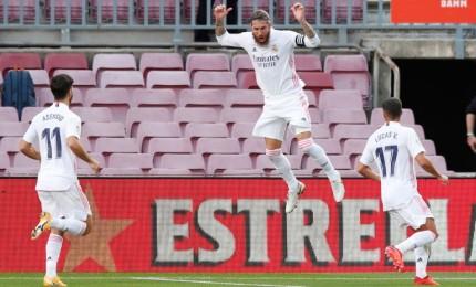 ريال مدريد يطيح ببرشلونة في عقر داره بثلاثة أهداف