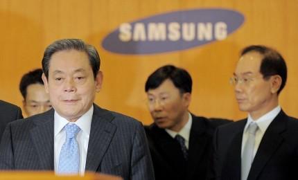 وفاة مؤسس شركة سامسونج جراء نوبة قلبية مفاجئة