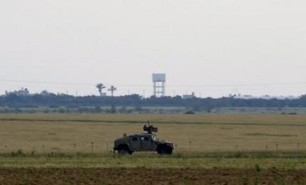الاحتلال يطلق النار اتجاه المزارعين شرق خان يونس
