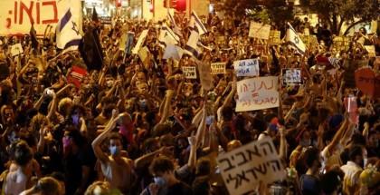 استمرار المظاهرات المطالبة برحيل نتنياهو ومحاكمته للأسبوع الـ31 على التوالي