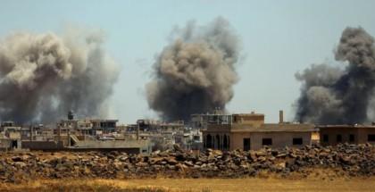 الاحتلال الإسرائيلي يقصف أهدافًا في حماة السورية