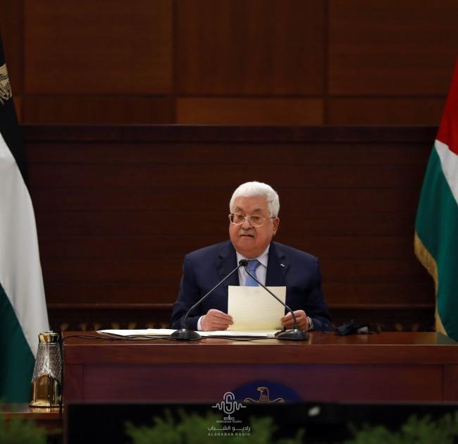 الرئيس عباس يعلن حالة الطوارئ 30 يومًا لمواجهة تفشي فيروس كورونا في الأراضي الفلسطينية