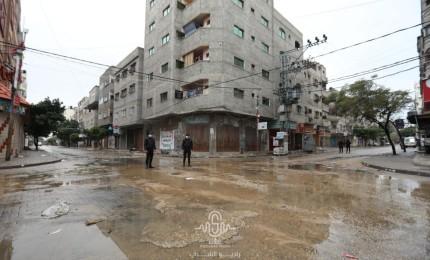 الإغلاق الكلي في محافظات قطاع غزة للأسبوع السادس على التوالي
