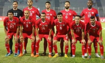 بعثة منتخب فلسطين تصل دولة الكويت