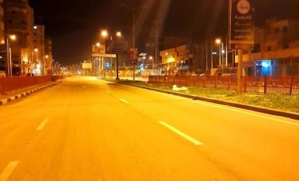 استمرار الإغلاق الليلي في محافظات غزة للأسبوع السادس على التوالي ضمن اجراءات كورونا