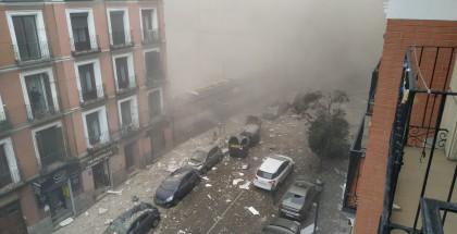 """وفاة شخصان بانفجار في العاصمة الأسبانية """"مدريد"""""""