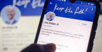 """بايدن في أول تغريدة له كرئيس: """"لا يوجد وقت نضيعه"""""""