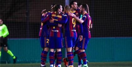 برشلونة يتفادى مفاجآت كأس ملك إسبانيا بثنائية في كورنيلا