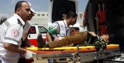 إصابة طفل جراء انفجار قنبلة صوتية من مخلفات الاحتلال جنوب أريحا