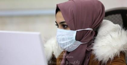 حالتا وفاة و554 إصابة جديدة بفيروس كورونا في غزة