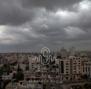 الطقس: استمرار  المنخفض الجوي في فلسطين