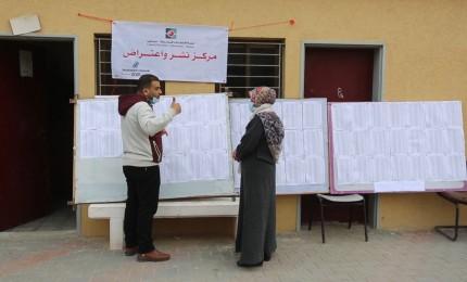 بدء العمل بمرحلة النشر والاعتراض للسجل الانتخابي في الانتخابات الفلسطينية 2021