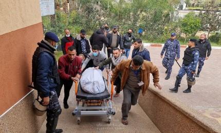 ثلاث شهداء من عائلة واحدة جراء انفجار مركب صيد في عرض بحر خان يونس