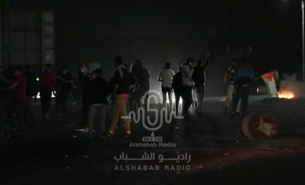 إصابات بالاختناق خلال مواجهات مع الاحتلال على مدخل بيت لحم الشمالي