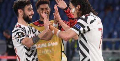 اليونايتد يحبط صحوة روما ويتأهل لنهائي الدوري الأوروبي