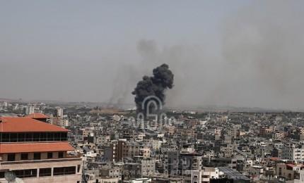 شاهد بالصور: استهدافات الاحتلال لمنازل المواطنين في قطاع غزة