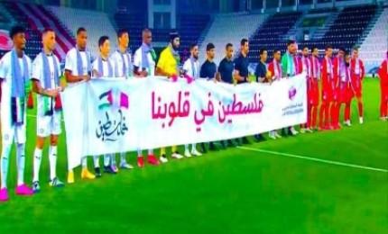 نجوم كرة القدم وأندية عربية وعالمية يساندون فلسطين
