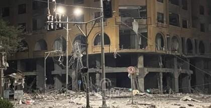 الأشغال بغزة: قرار إزالة أو ترميم برج الجوهرة قيد الدراسة