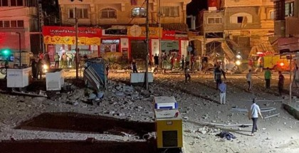 أربعة شهداء بقصف لطائرات الاحتلال مجموعة من المواطنين بمخيم النصيرات