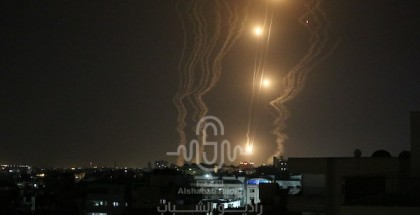 قتيل وعدد من الإصابات في صفوف الإرهابيين بعد إطلاق المقاومة رشقات صاروخية تجاه بلدات الداخل المحتل