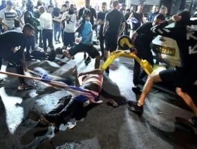 عصابات المستوطنين الإرهابية  تعتدي على العرب في فلسطين المحتلة