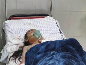 إصابة الطفلة ليان محارب بعد استهداف منزلهم بصاروخ كاد أن يوقع جريمة كبيرة بحق العائلة