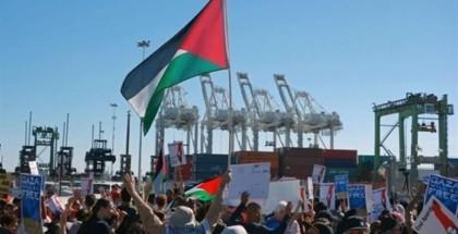 """نقابة عمال ميناء """"اوكلاند"""" بولاية كاليفورنيا ترفض تفريغ حمولة سفينة """"إسرائيلية"""""""