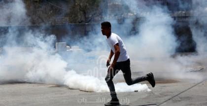 قلقيلية: إصابات برصاص الاحتلال والاختناق خلال قمع الاحتلال مسيرة كفر قدوم