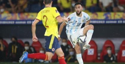 رأسية قاتلة تحبط الأرجنتين أمام كولومبيا