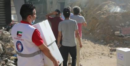 المساعدات الكويتية لصالح غزة تصل المملكة الأردنية