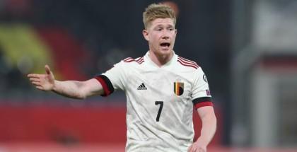 دي بروين يغيب عن المباراة الأولى لبلجيكا في اليورو