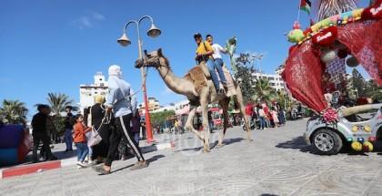 أجواء عيد الأضحى المبارك في قطاع غزة