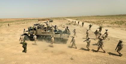 """القوات العراقية تطلق عملية عسكرية جديدة لملاحقة """"داعش"""" بشمال البلاد"""