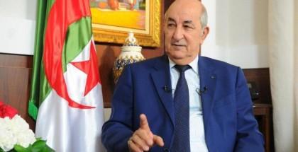 رئيس الجزائر: منظمات إرهابية تخرب الاقتصاد ولن نستدين من الخارج