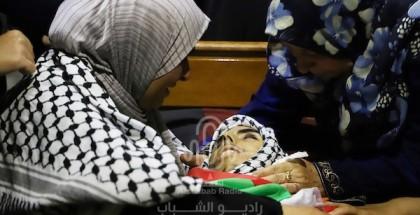 تشييع جثمان الشهيد يوسف محارب في مدينة رام الله بالضفة المحتلة