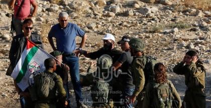 مواجهات مع قوات الاحتلال خلال مظاهرة ضد المستوطنات بالقرب من طوباس