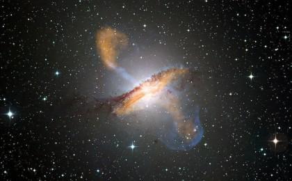 الثقب الأسود يدمر نجما في وسط المجرة