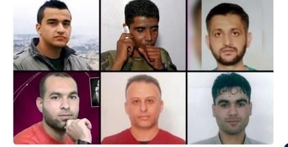 فصائل فلسطينية: الاحتلال يتحمل المسؤولية الكاملة عن المساس بحياة الأسرى الستة