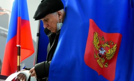الحزب الحاكم في روسيا يتصدّر الانتخابات التشريعية بنيله 38 بالمئة من الأصوات