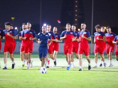 الأولمبي يواصل تحضيراته الختامية لتصفيات كأس آسيا